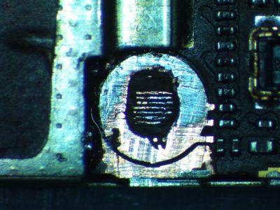 iphone 5s domaged screw