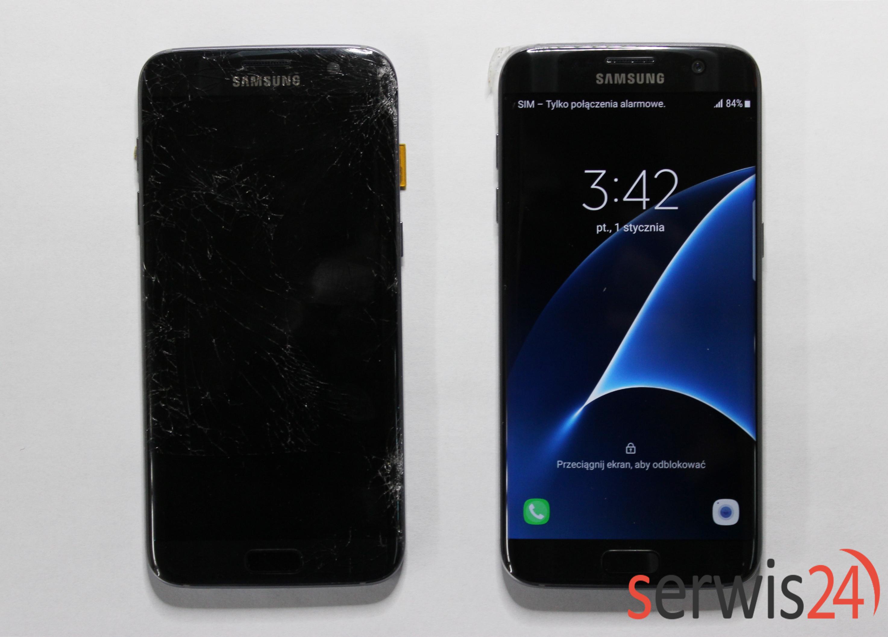 Samsung S7 edge wymiana wyświetlacza