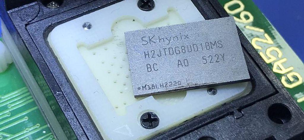 iPhone NAND wymiana naprawa pamięci