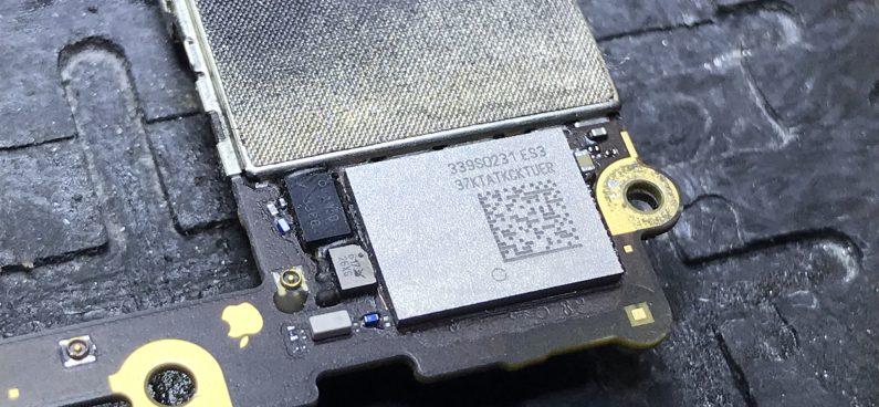wymiana układu WIFI U5206_RF 339S0228