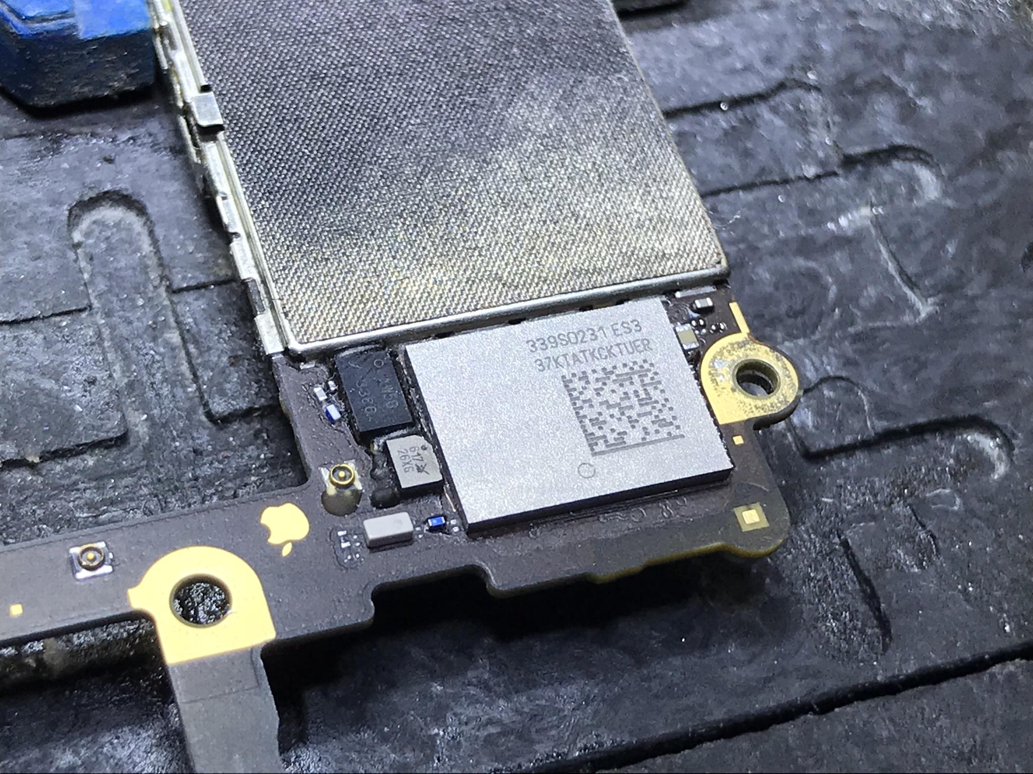 iPhone 6 wymiana układu WI-FI 339S0228 U5201_RF