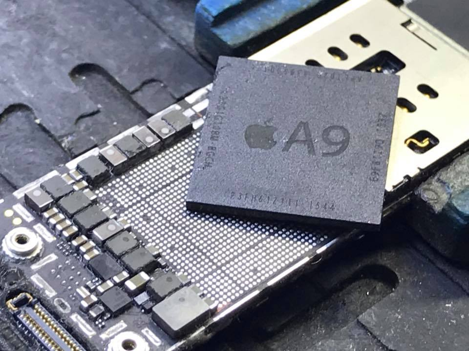 iPhone 6S A9 CPU reballing Naprawa CPU iTunes Error 9 4013