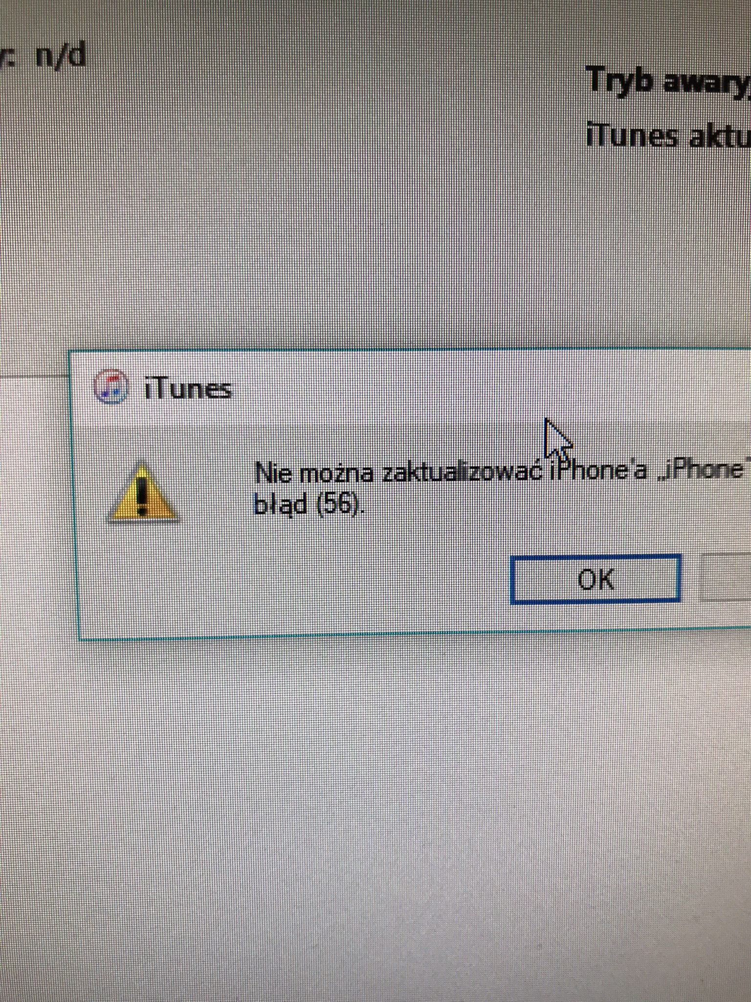 iphone 6 error 56 iTunes NFC
